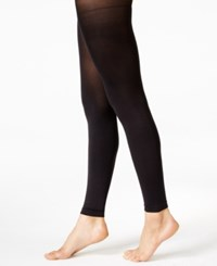 Hue Super Opaque Footless Tights Black