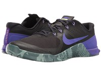 Nike Metcon 2 Black Fierce Purple Hasta Cannon Men's Cross Training Shoes