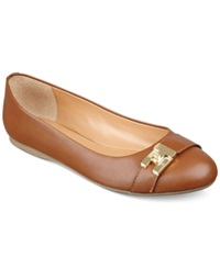 Tommy Hilfiger Catyan Flats Women's Shoes Luggage