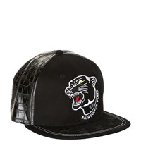 Philipp Plein Hey Bro Panther Cap Unisex Black
