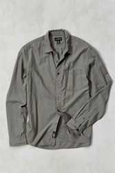 Cpo Breezy Vertical Dobby Button Down Shirt Slate