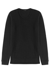 Iro Cotton Wool Pullover Black