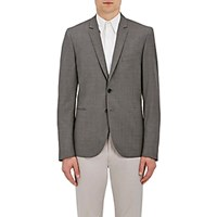Paul Smith Ps By Men's Worsted Wool Two Button Sportcoat Grey