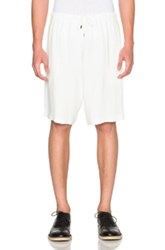 J.W.Anderson J.W. Anderson Drawstring Shorts In White
