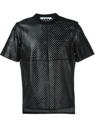 Givenchy Star Perforated T Shirt Black