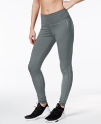 Reebok Reversible Speedwick Leggings Alloy Black