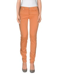 7 For All Mankind Trousers Casual Trousers Women Apricot