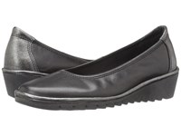 The Flexx Melany Black Cana Di Fucile Cashmere Saturno Women's Wedge Shoes