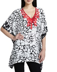 Indikka Embroidered Print Tunic Women's