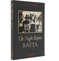 Assouline The Night Before Bafta Hardcover Book Black