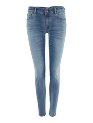 Replay Luz Skinny Jeans Denim Faded