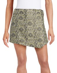 Kensie Tribal Skort Dusty Olive