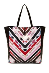 Cynthia Rowley Kai Leather Tote Multi