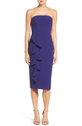 Jay Godfrey Women's 'Berlin' Ruffle Strapless Midi Dress