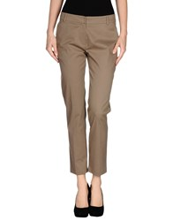 Niu' Trousers Casual Trousers Women Khaki