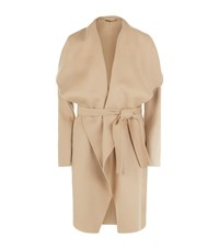 Hugo Boss Catifa Wool Cashmere Waterfall Coat Female