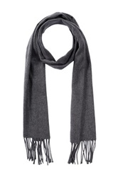 Amicale Solid Color Scarf Gray