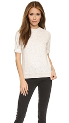 Joan Smalls X True Religion Short Sleeve Sweatshirt Nude