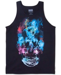 Famous Stars And Straps Men's Graphic Print Tank Top Black
