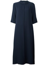 Sofie D'hoore 'Doha' A Line Midi Dress Blue