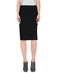 Strenesse Skirts Knee Length Skirts Women Black