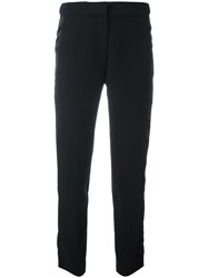 Carven Straight Trousers Black