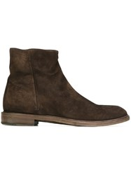 Paul Smith Ankle Boots Brown