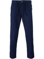 Bleu De Paname 'Bdp Jump Paint' Trousers Blue