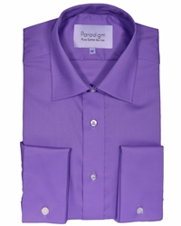 Double Two Long Sleeve Shirt Purple