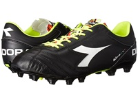 Diadora Italica 3 K Pro Mg 14 Black White Men's Soccer Shoes