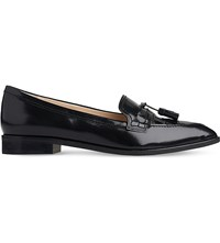 Lk Bennett Ellenor Patent Leather Loafers Bla Black