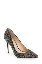 Imagine By Vince Camuto Women's 'Olson' Crystal Embellished Pump Black Diamond Fabric