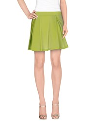 Chlotilde Skirts Mini Skirts Women Light Green
