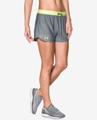 Under Armour Play Up Shorts Steel X Ray