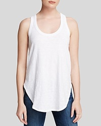 Wilt Top Shirttail Tank White