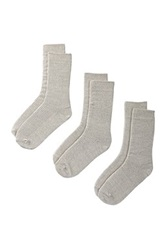Bottoms Out Socks Pack Of 3 Gray