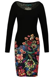 Desigual Martina Jumper Dress Black