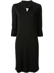 Maison Martin Margiela Loose Fit Shirt Dress Black