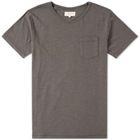 Hawksmill Denim Co. Pocket Tee Grey