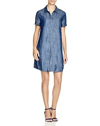 Lilla P Chambray Shirt Dress Dungaree