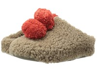 Fitflop House With Pom Poms Timberwolf Women's Shoes Multi