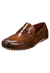 Melvin And Hamilton Driver Slipons Crust Tan Brown