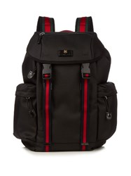 Gucci Techno Canvas Backpack Black Multi