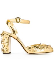 Dolce And Gabbana 'Vally' Pumps Metallic