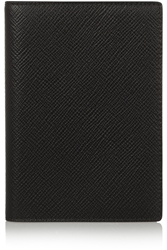 Smythson Textured Leather Passport Cover