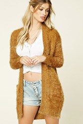 Forever 21 Fuzzy Knit Cardigan