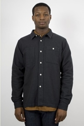 Mhl Margaret Howell Polo Cotton Graphite Ideology Boutique