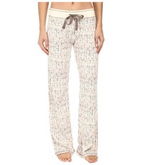 Pj Salvage Teeny Tipi's Thermal Pants Natural Women's Pajama Beige
