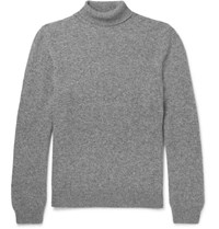 A.P.C. Camel Rollneck Sweater Gray
