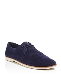 Toms Hensley Casual Lace Up Oxfords Navy